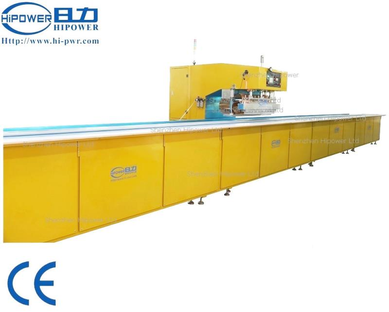 Moving Canvas/Tarpaulin Welder by High Frequency Welding